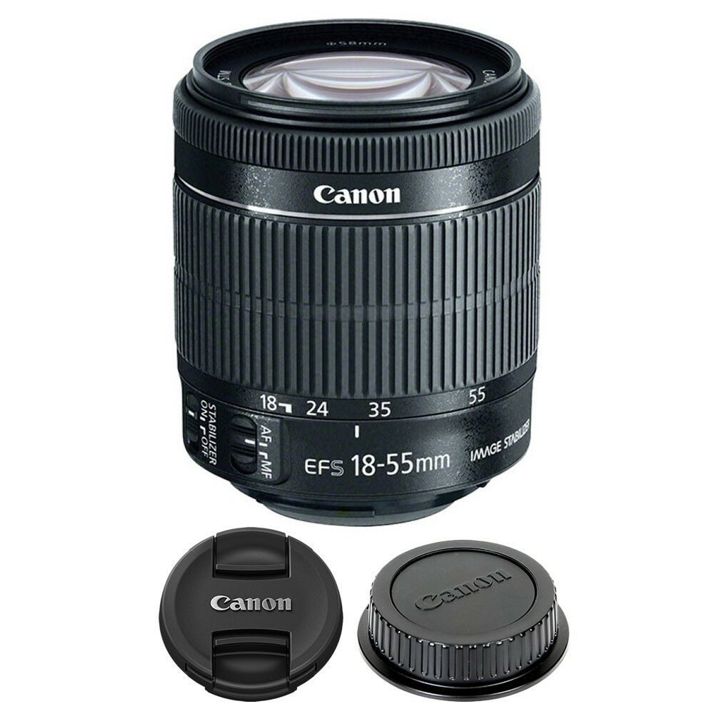 Canon Ef S 18 55mm F 35 56 Is Stm Lens 11900 Picclick Eos 700d Kit 135mm 1 Of 3free Shipping