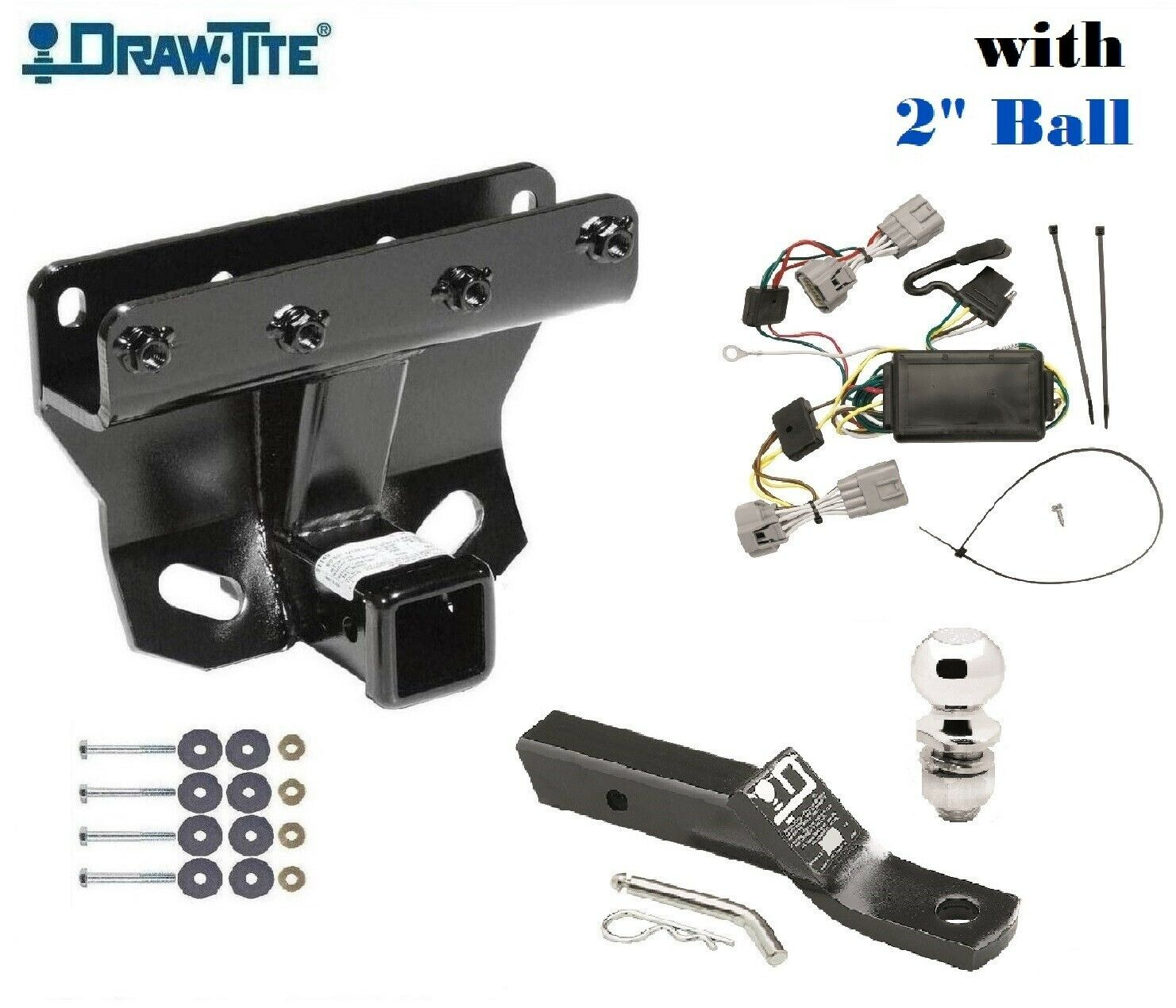Cls3 Trailer Hitch Package W 2 Ball For 2005 2006 Jeep Grand Cherokee 75338 1 Of 6free Shipping