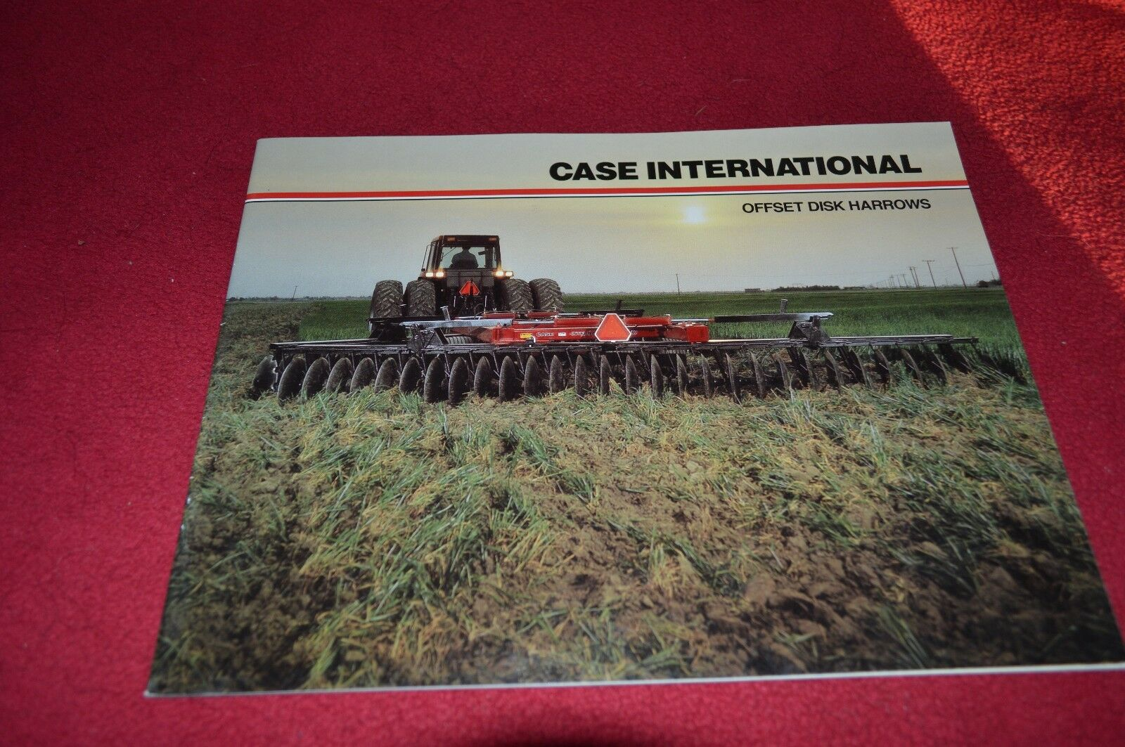 Case International Offset Disc Harrow Dealer's Brochure MISC2 1 of 1Only 1  available ...