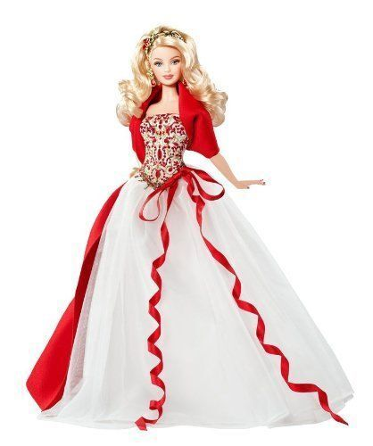 New In Box 2010 Holiday Barbie Doll Nrfb Eur 31 24