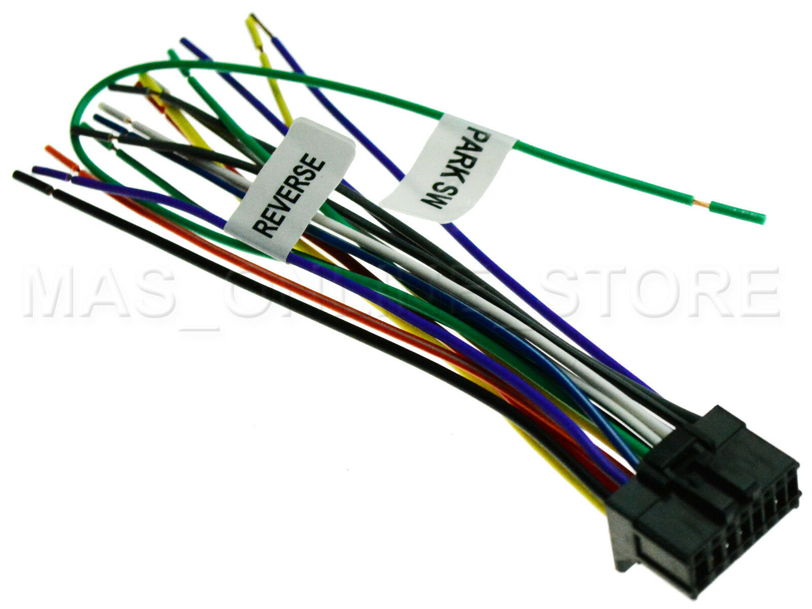 Wire Harness For Pioneer Avh 100 Dvd 100dvd Avh100dvd 200bt P4000dvd Bypass 1 Of 3free Shipping