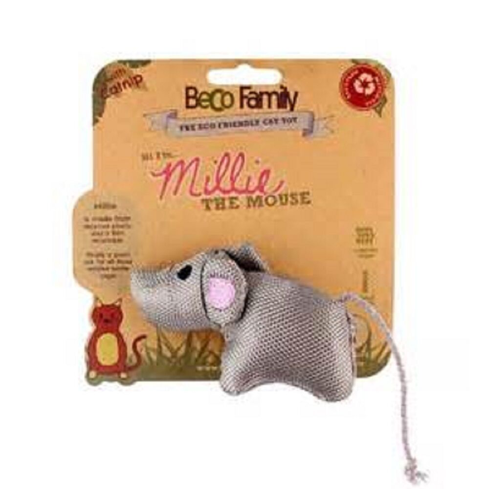Beco Plush Catnip Cat Toy Mouse, Premium Service, Fast Dispatch