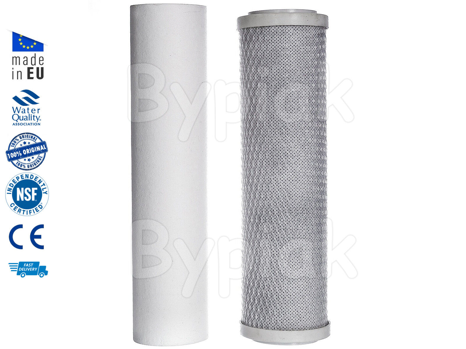 2 Stage Filtration HMA Home Drinking Water Filter System Replacement 10""