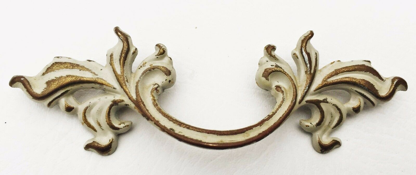 """Vintage Chic French Provincial Drawer Pull Antique Hardware 3"""" on center"""