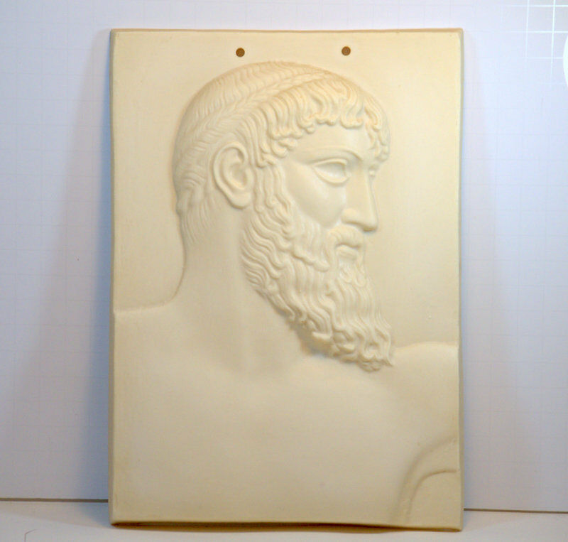 Plaque Vintage Greek Mythical Relief Wall Hanging Wall Grecian Home Decor