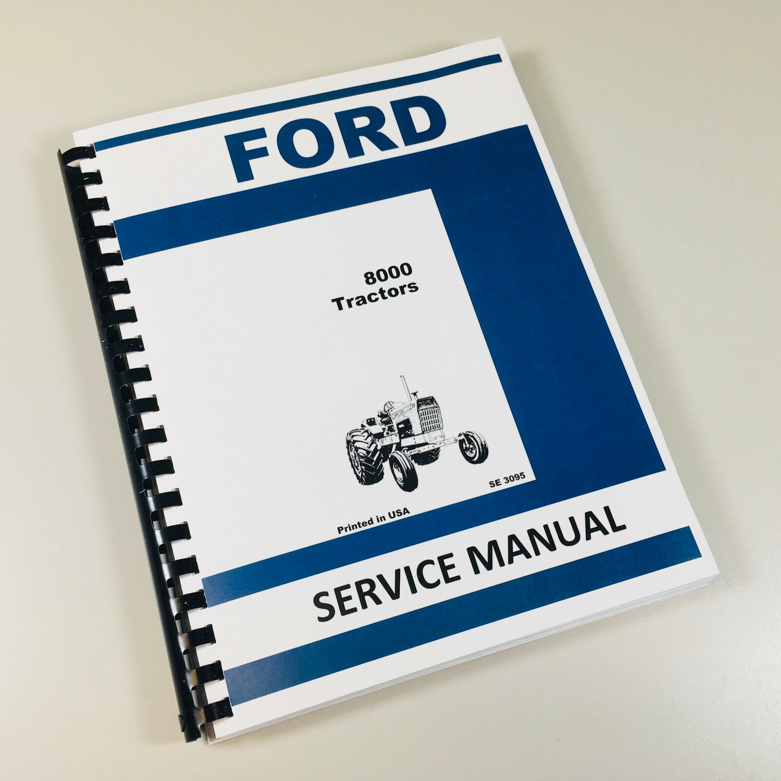 Ford 8000 Tractor Service Repair Shop Manual Technical New Oem Overhaul 1  of 7FREE Shipping See More