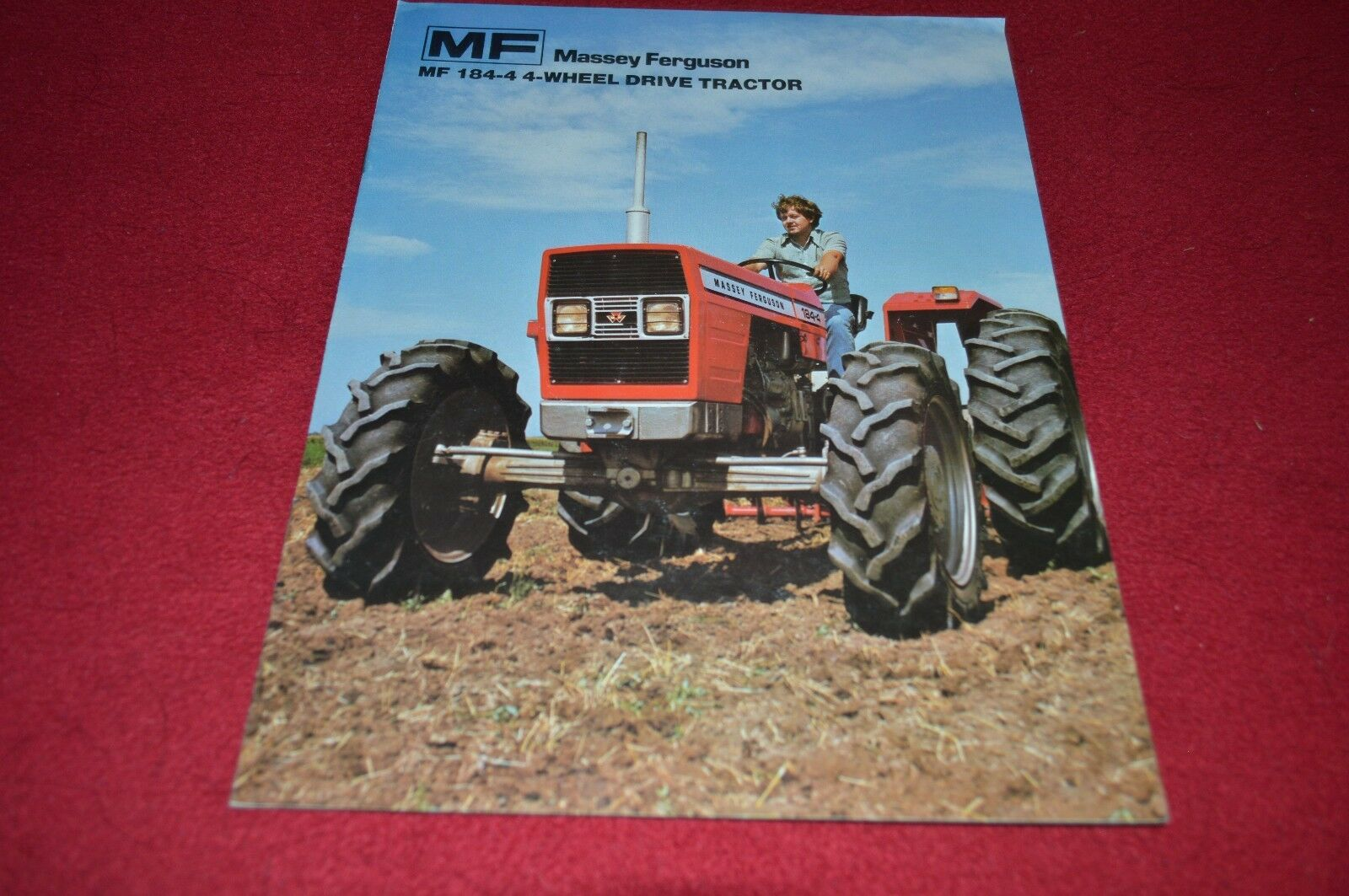 Massey Ferguson 184-4 Tractor Dealer's Brochure DCPA5 1 of 1Only 1  available ...