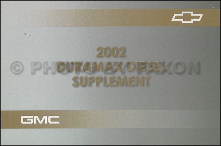 2002 duramax diesel owners manual chevy silverado gmc sierra new 6 6 rh picclick com 2007 duramax diesel supplement manual duramax diesel supplement manual 2007