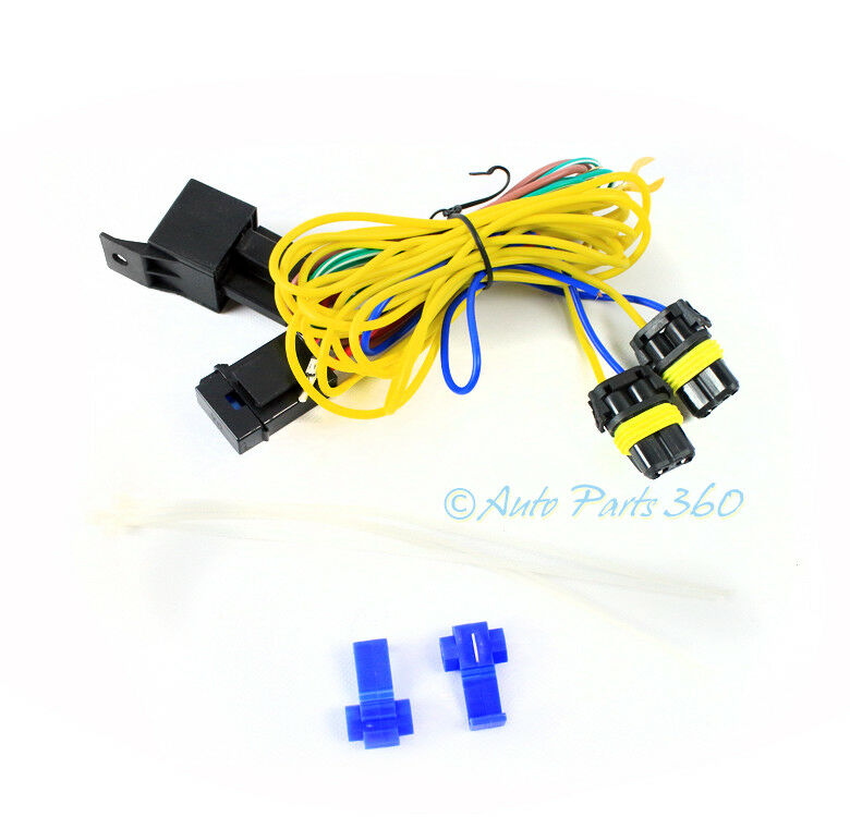 Fog Lights Ls Wiring Harness Kit W9006 Connector For Vw Golf Jetta Passat Cc 1 Of 4only 2 Available: Fog Light Wiring Harness Kit At Sewuka.co