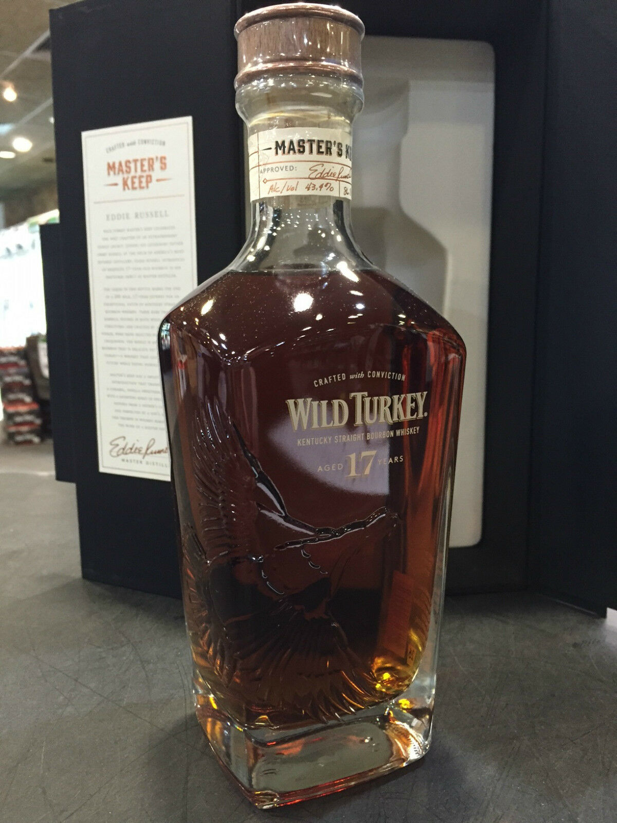 Wild Turkey Masters Keep 17YO Bourbon 750ml