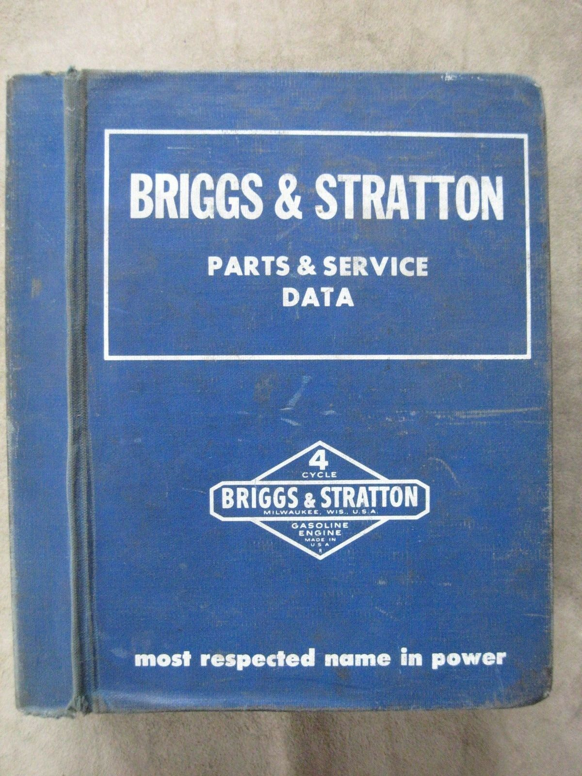 Briggs Stratton Engine Parts Service Manual 6986 Picclick And Diagram List For 1 Of 8only Available