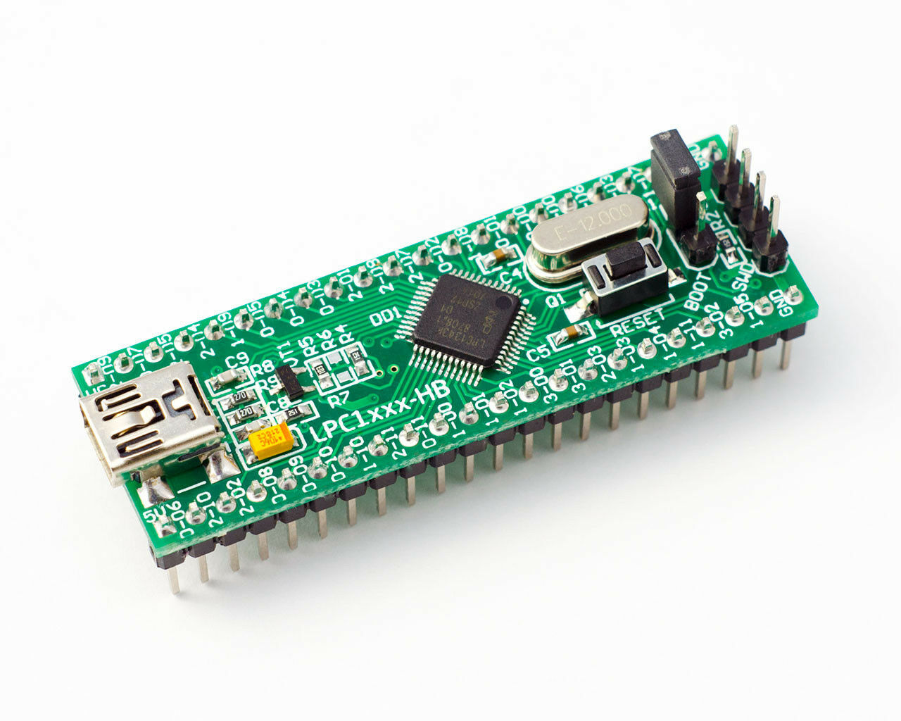 Lpc1343 Hb Header Dip Board With Usb Botloader Swd Connector Arm 10 Pcs 50mmx70mm Single Side Copper Cover Pcb Circuit Stripboard 1 Of 4only 2 Available