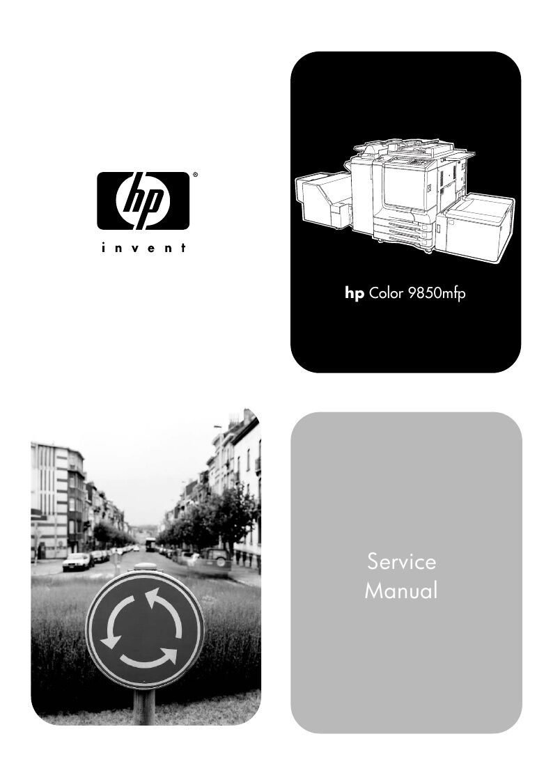 HP Color Laserjet 9850mfp Printer Service Manual(Parts & Diagrams) 1 of  1FREE Shipping ...