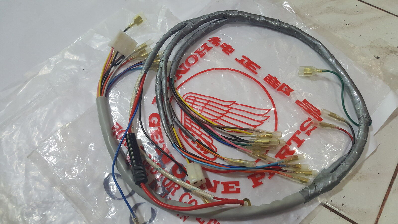 Main Wire Wiring Harness Honda Dream 250 305 C72 C77 C78 Ca72 Ca77 1978 Cb550 1 Of 1only 4 Available
