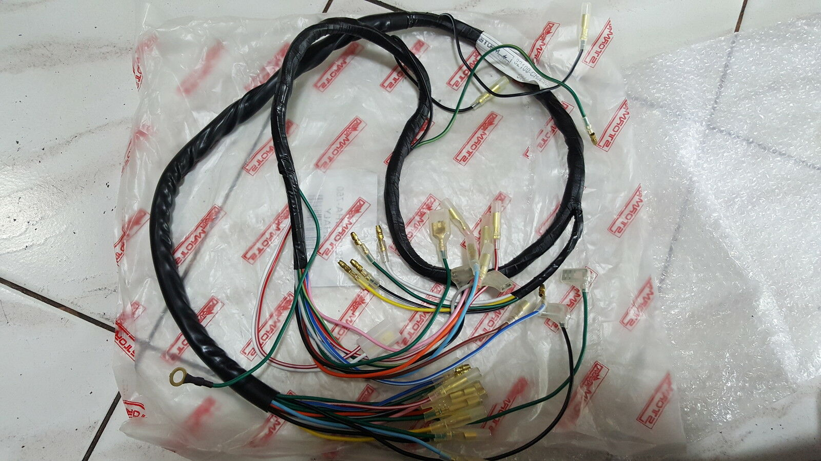 Honda Chaly 50 70 CF50 CF70 Wire wiring harness 1 of 3 ...