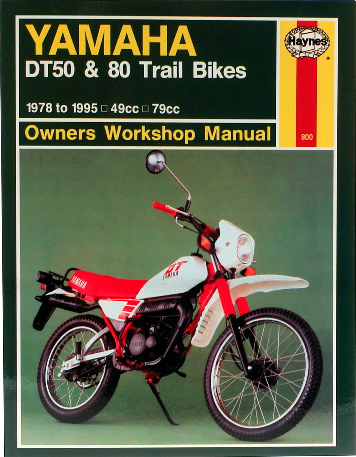 haynes workshop service repair manual yamaha dt50 dt80 trail bikes sukup wiring diagram 1 of 1only 1 available