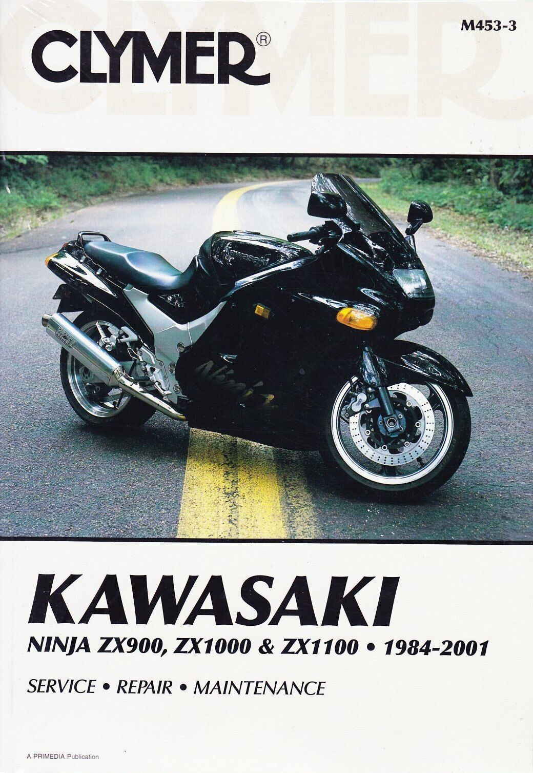 Clymer Workshop Service Repair Manual Kawasaki Ninja Zx900 Zx1000 Zx1100  84-01 1 of 1Only 1 available ...