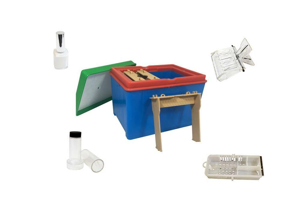 Mating Hive and Accessories, Clip Catcher, Turn & Mark, Paint, Cage