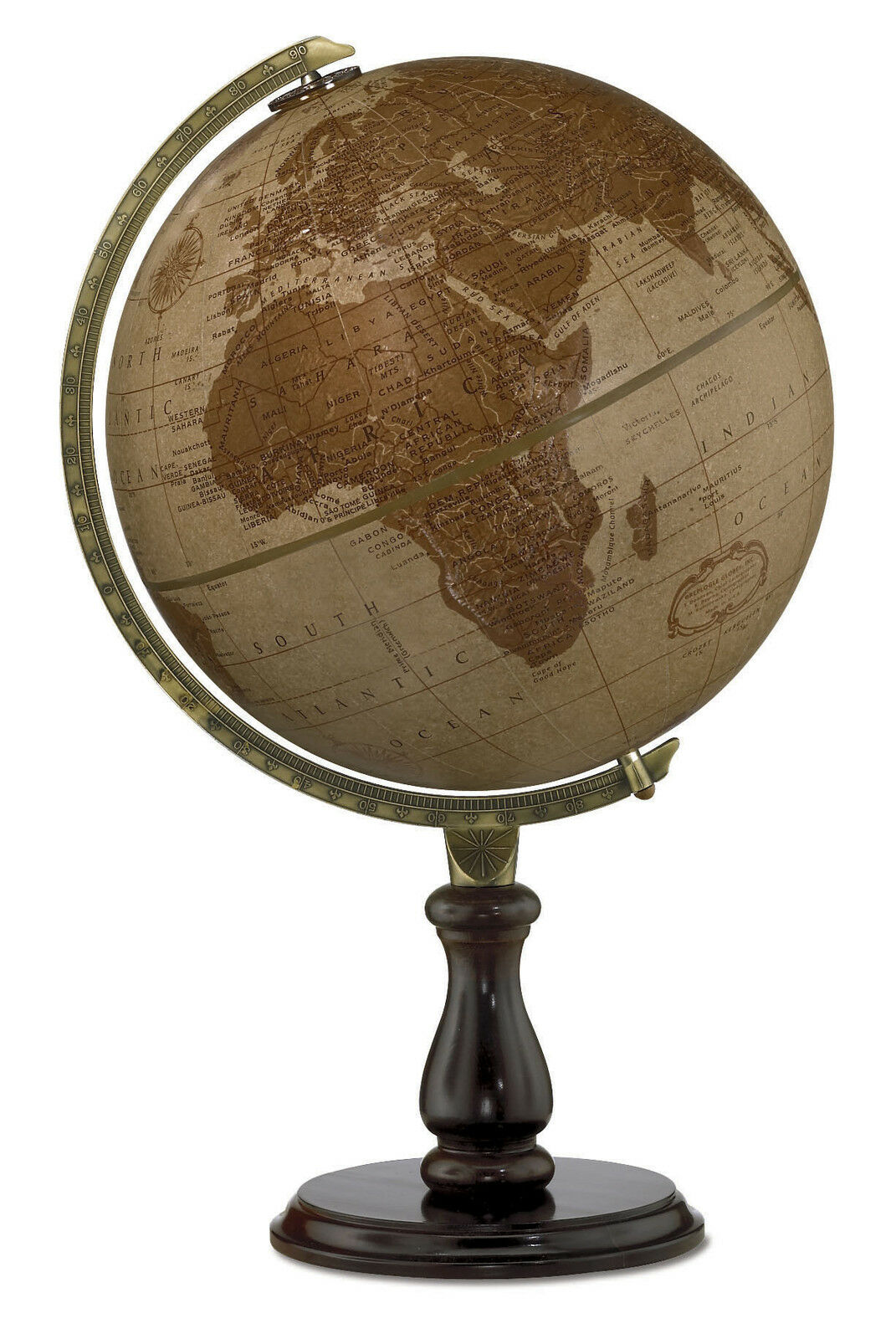 Replogle Leather Expedition 12 Inch Desktop World Globe 173 98