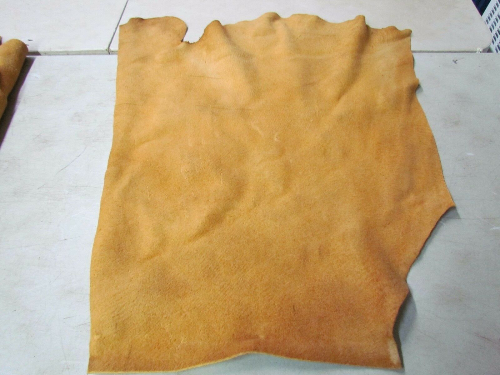 """Moose Hide Native American Dark Home Tanned Marvelously Soft 24"""" In By 31"""" In"""