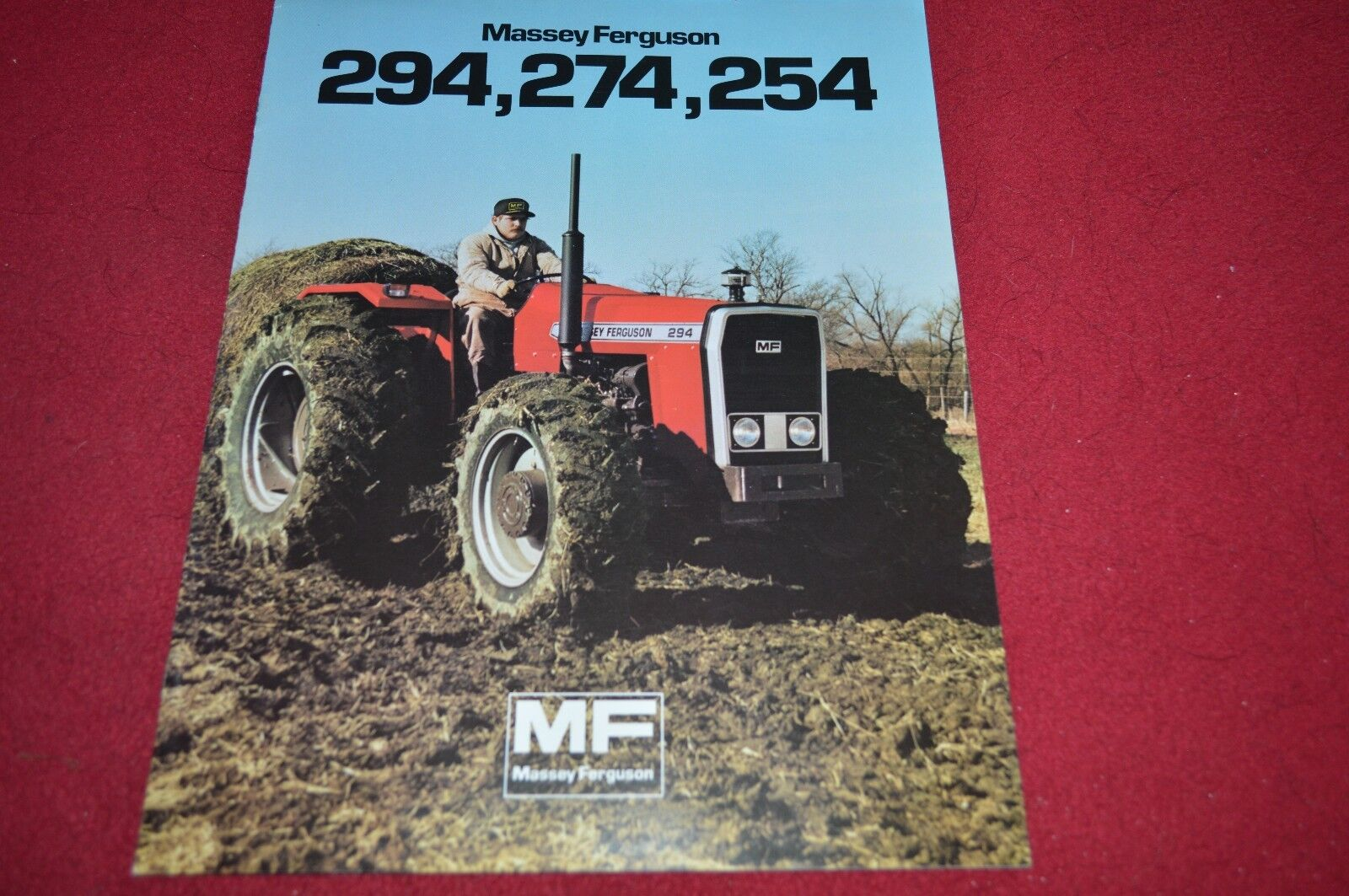 Massey Ferguson 294 274 254 Tractor Dealer's Brochure DCPA4 1 of 1Only 1  available ...