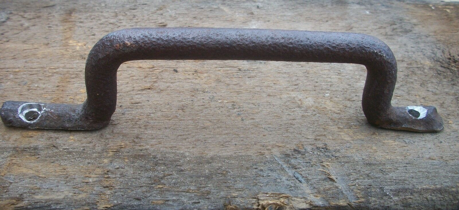 Steampunk Antique Hardware Primitive Cast Iron Drawer Pull Cabinet Handle Pull