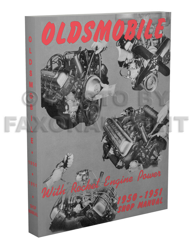 1951 Oldsmobile Wiring Diagram Library Of 19501951 Chevrolet Pickup Trucks All About 1950 Repair Shop Manual Olds 76 88 98 Includes 1
