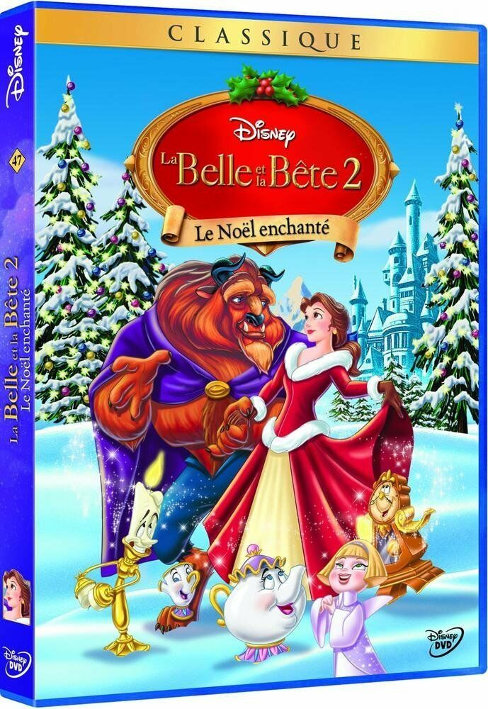 dvd la belle et la bete 2 le noel enchante disney n 47. Black Bedroom Furniture Sets. Home Design Ideas