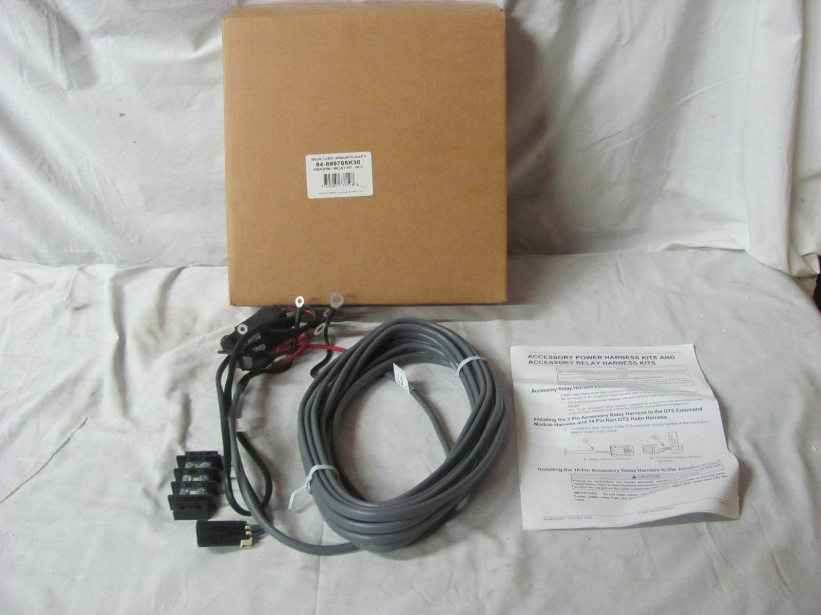 Mercury Marine Smartcraft Power Harness Relay Kit 84 899785k30 Wiring 1 Of 1only 2 Available