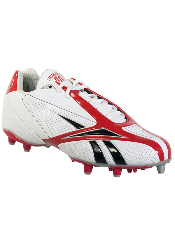 82feaa97798 Reebok Nfl Burner Spd Iii Low M3 Mens Football Cleats White Red 12.5 1 of  2Only 5 available ...