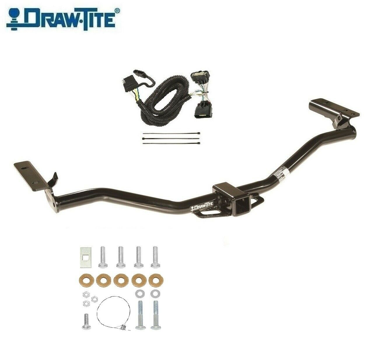 "Fits 2011-2018 Ford Explorer, Class 3 Trailer Hitch & Wiring, 2"" 1 of 4Only  1 available See More"