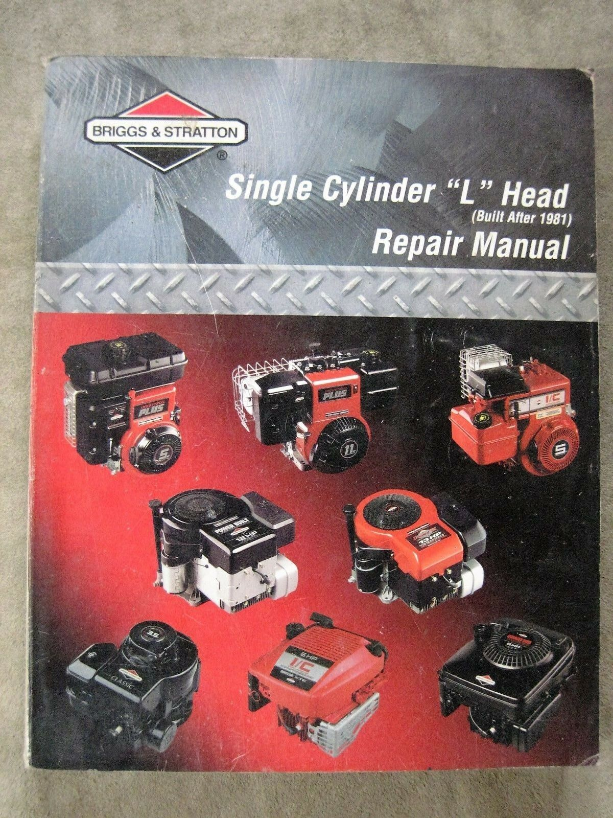 Briggs & Stratton Single Cylinder L Head Repair Manual 1 of 3Only 1  available ...