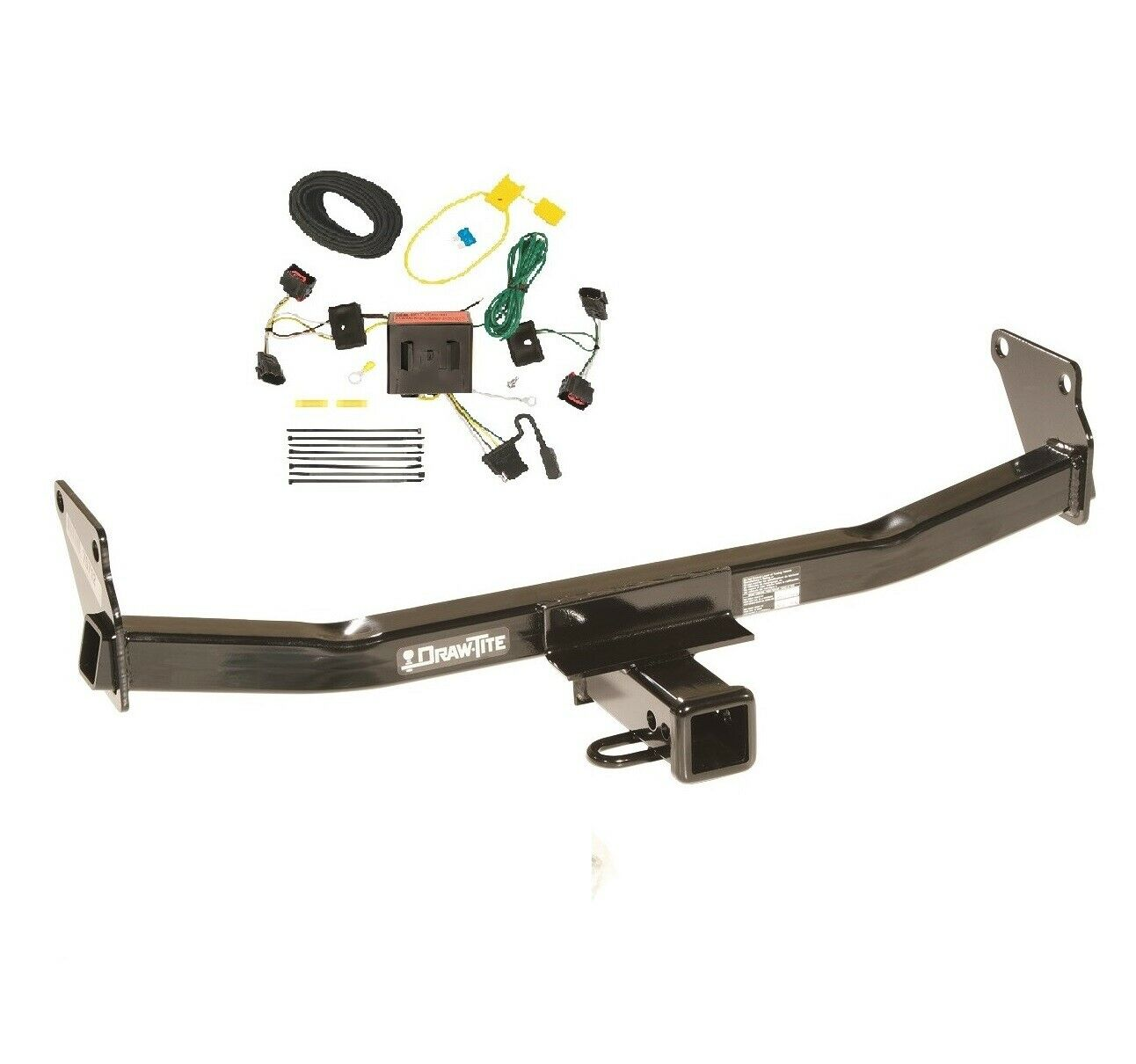 """Fits 2008-2017 Jeep Patriot Class 3 Trailer Hitch & Wiring 2"""" Tow Receiver  1 of 4Only 2 available ..."""
