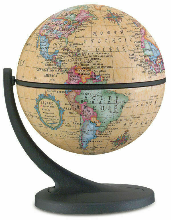 Wonder Globe Antique 4 3 Inch Desktop World By Replogle Globes 1 Of 1only Available See More