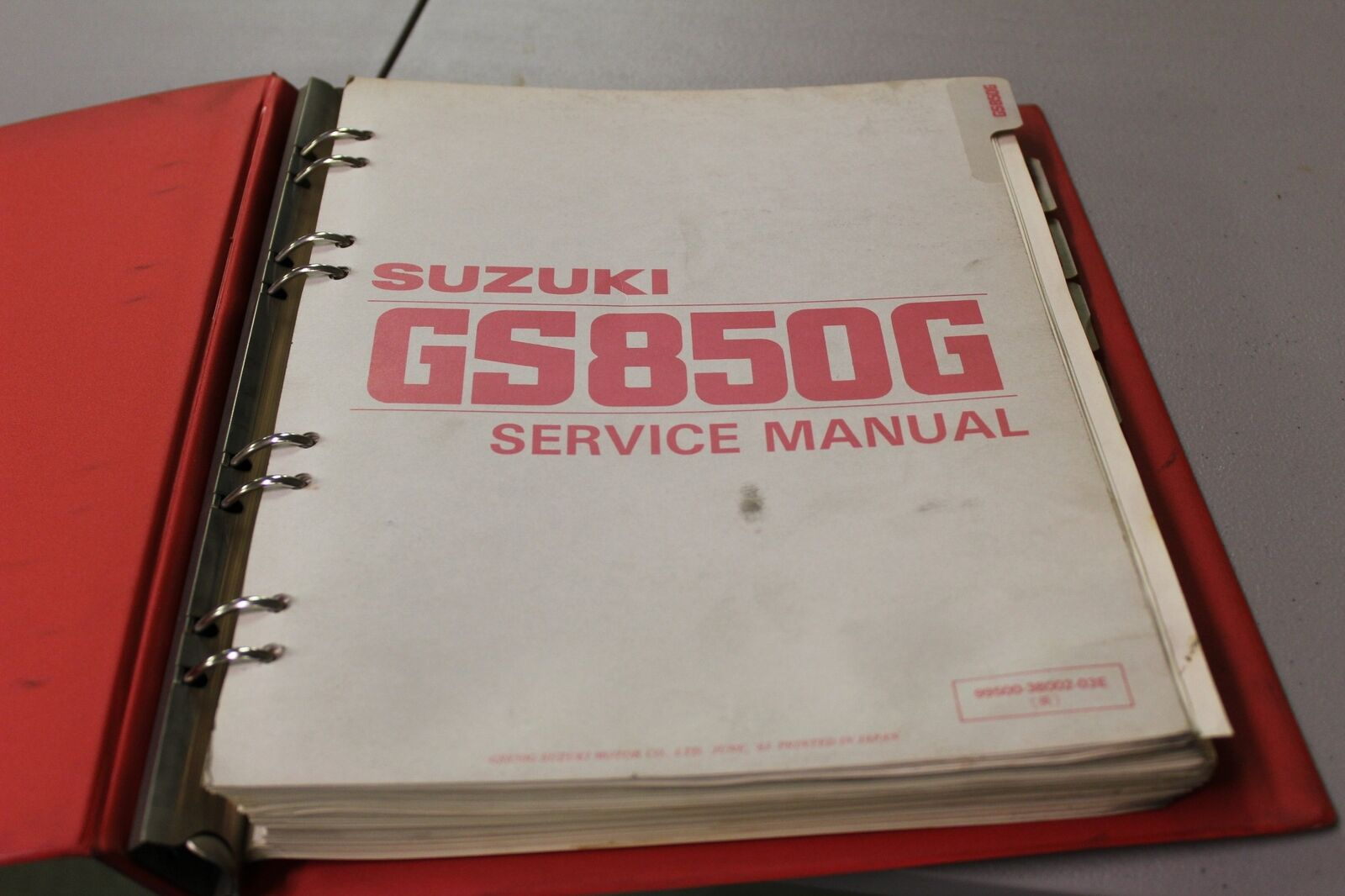 Suzuki OEM Service Repair Manual GS850G + Supplements GT/GLT/GX/GLX/ 1 of  2Only 1 available ...