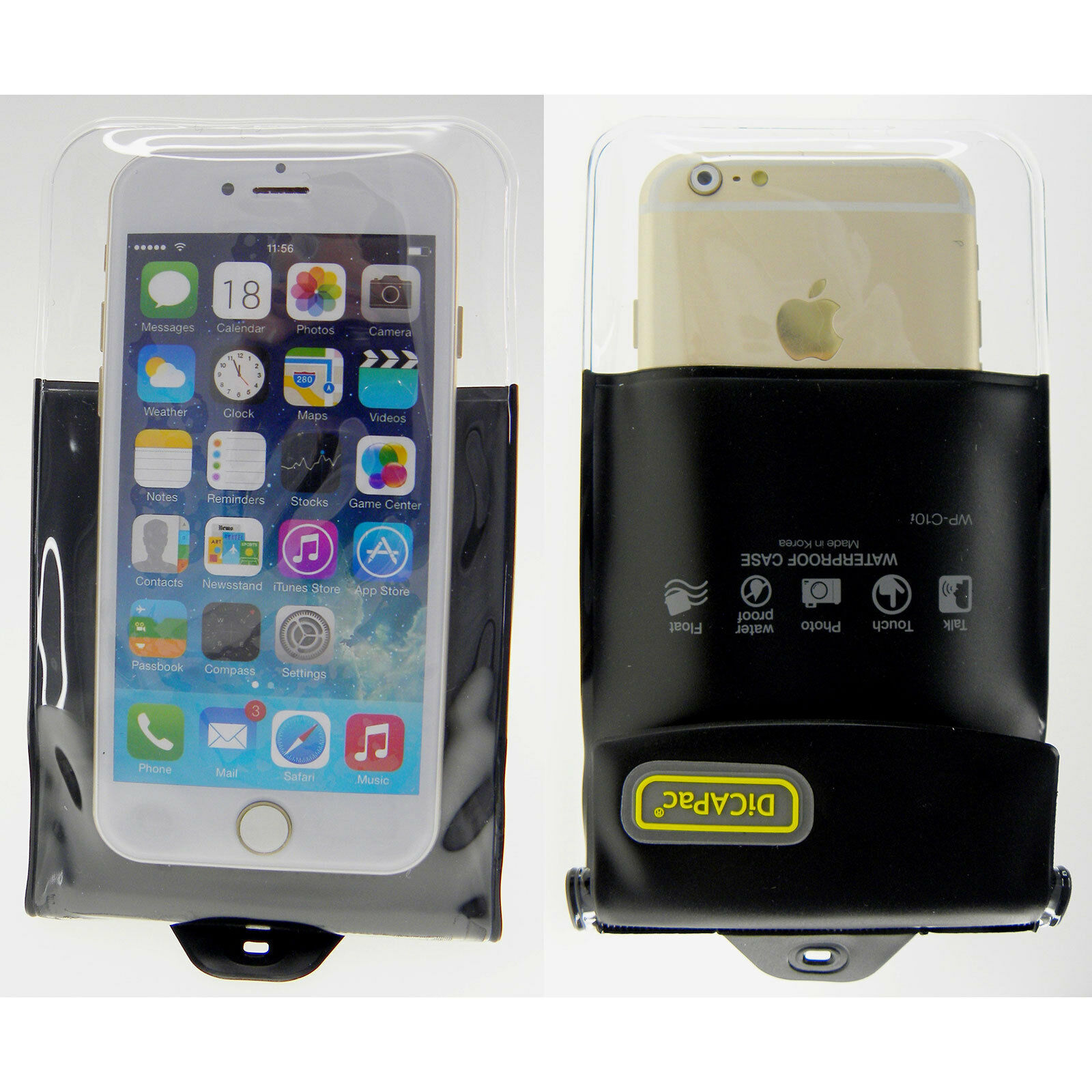 Dicapac Waterproof Case Wp C10i For Iphone 4 5 5s 6 6s Galaxy S4 S5 S10 Slr Dslr Cameras 1 Of 12free Shipping