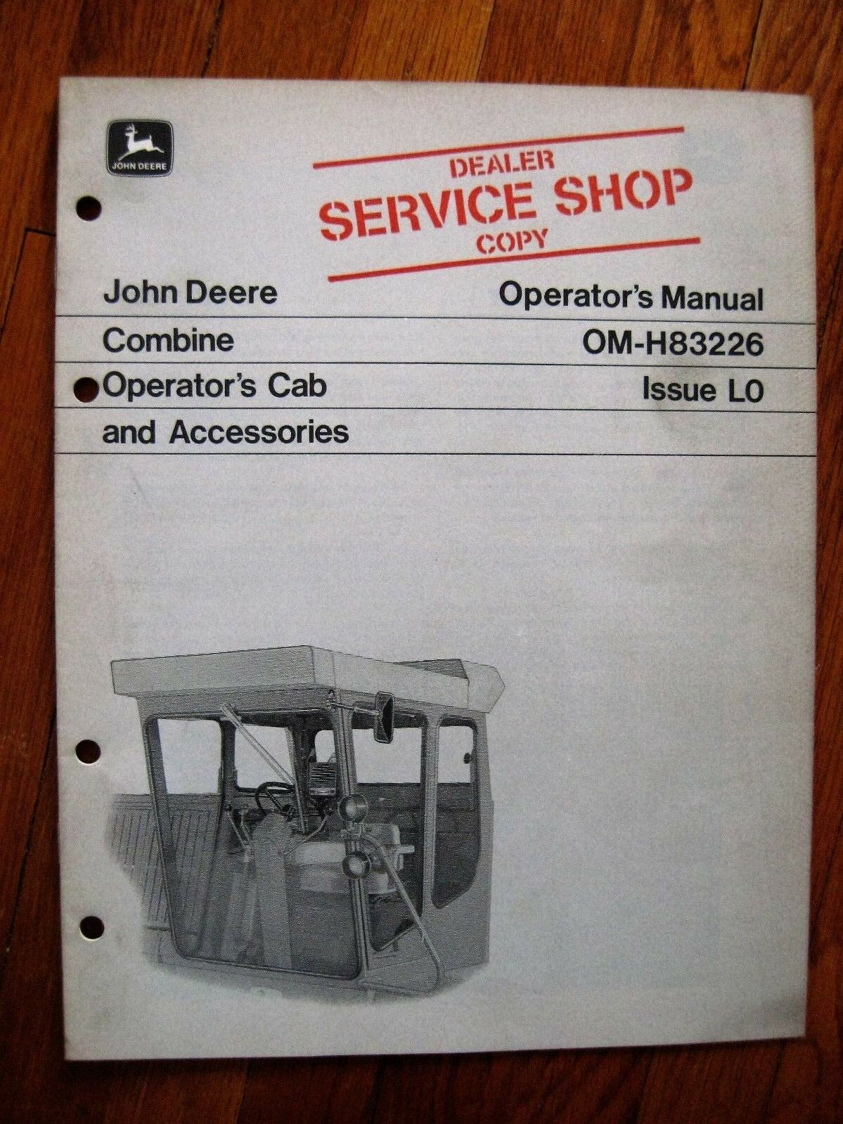 John Deere Operators Cab Accessorie 77 66 44 3300 Combine 5200 Wiring Diagram 1 Of 1only Available