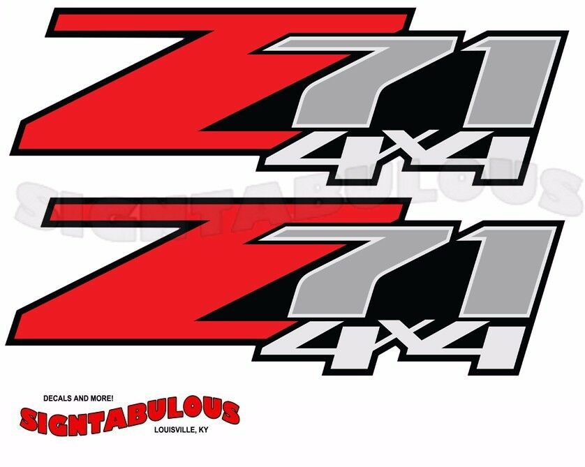Z71 Decal Location Autos Post