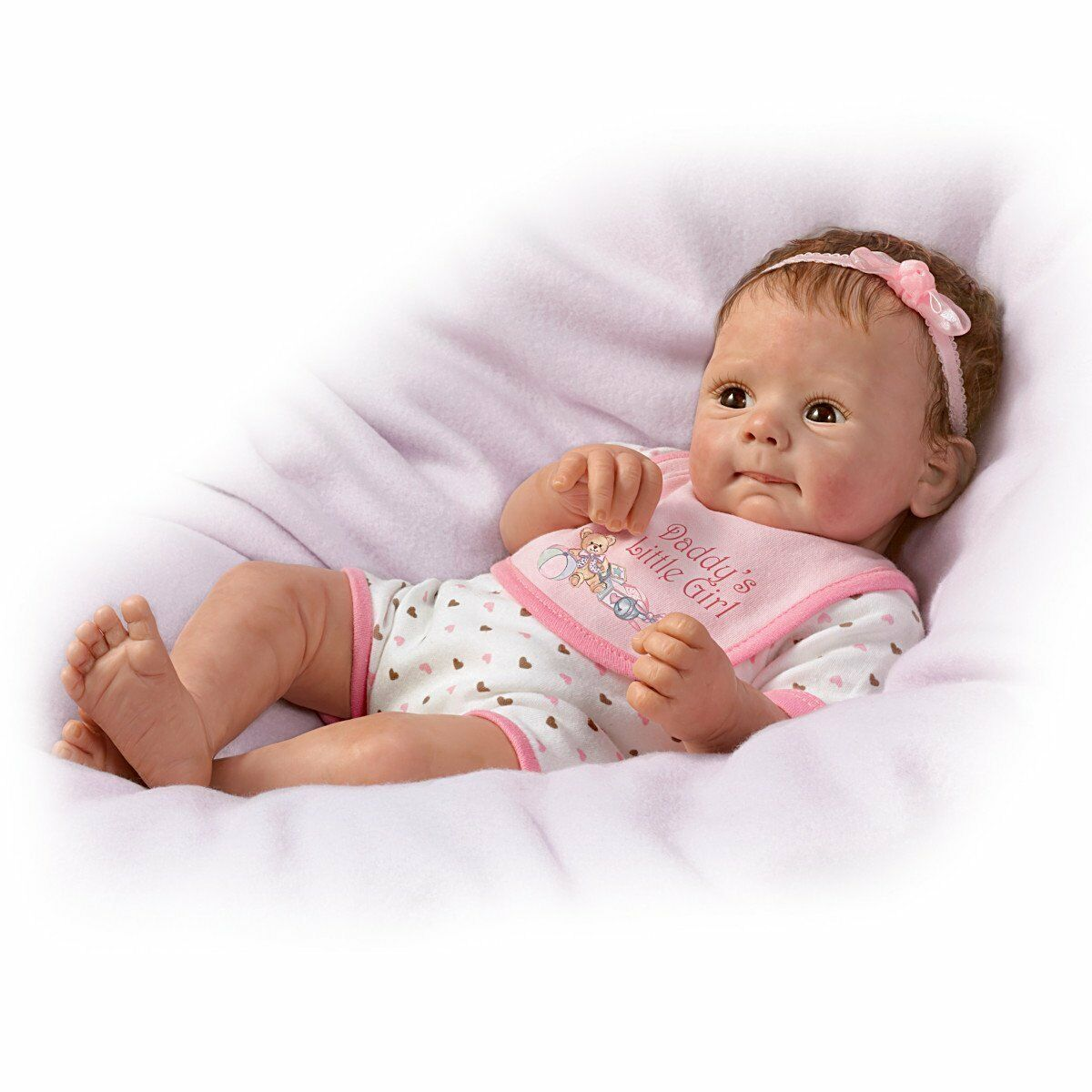 Daddy 39 s little girl so truly real poseable weighted doll for The ashton