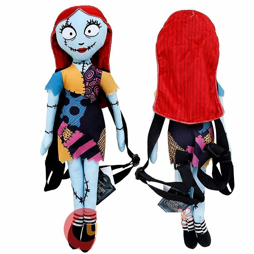 DISNEY NIGHTMARE BEFORE Christmas Sally Plush Doll Backpack 19 ...