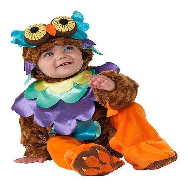 baby infant owl halloween soft plush costume 0 6 months new wtags