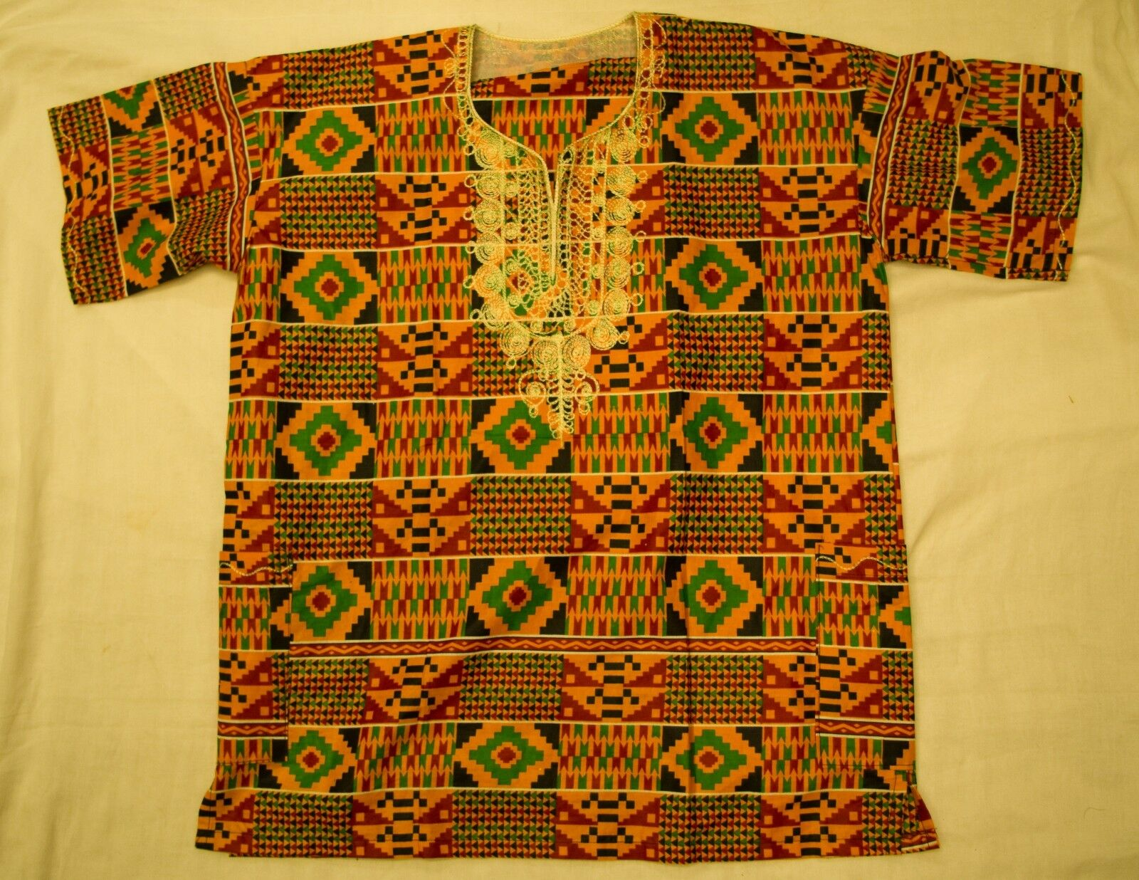 Handmade Traditional Africa Dashiki Shirt Ltd Edition One Off Roots & Culture 13
