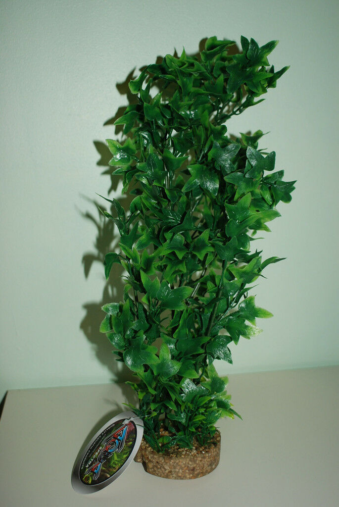 Large Aquarium Plant & Sandstone Base With Airstone In The Base Size8.3 x 40 cms