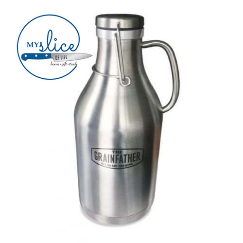 Grainfather Stainless Steel mini keg growler. 2L / Home Brew / All Grain / Beer