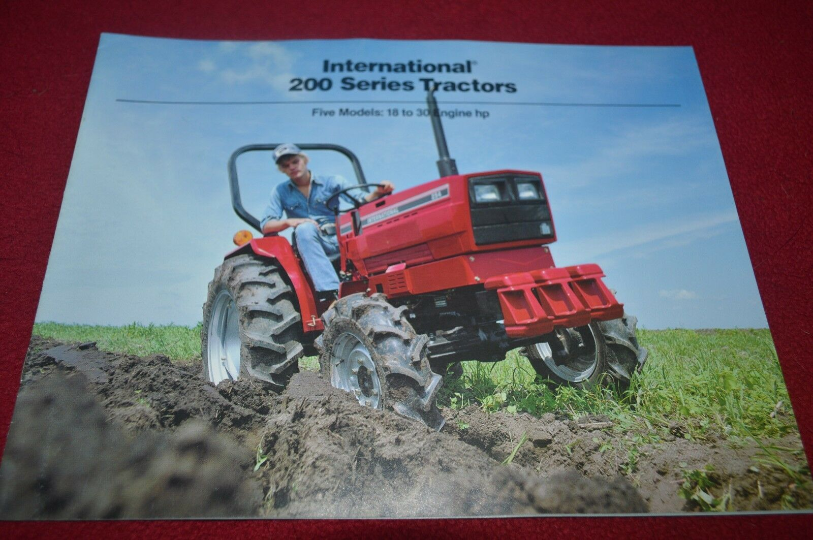 International Harvester 234 244 254 274 284 Tractor Dealer's Brochure  YABE10 1 of 1Only 1 available ...