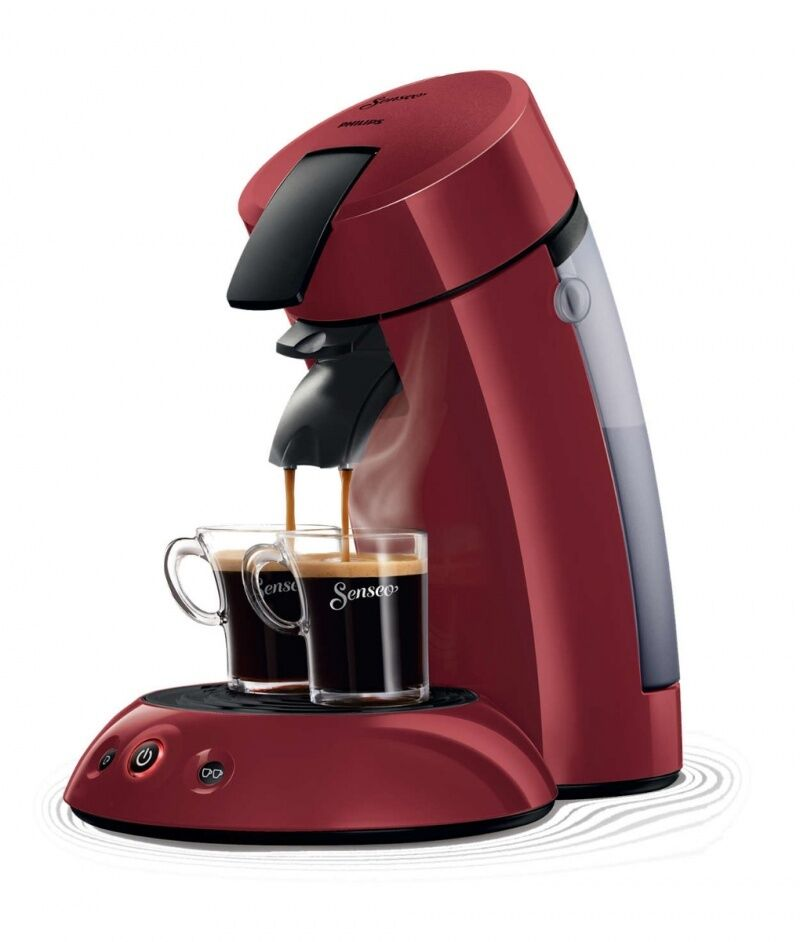 philips senseo hd7804 80 kaffee pad maschine rot limited. Black Bedroom Furniture Sets. Home Design Ideas