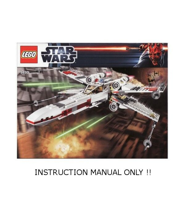 Instructions For Lego 9493 Star Wars X Wing Starfighter