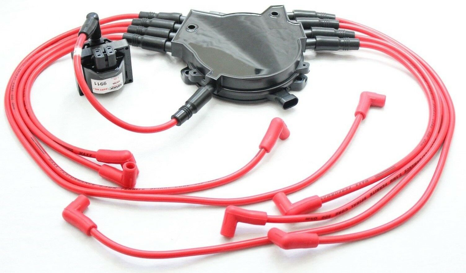 85mm Spark Plug Wires Optispark Ii Distributor Cap Coil 95 Camaro 96 Lt1 Wiring Harness Location 1 Of 4only 5 Available