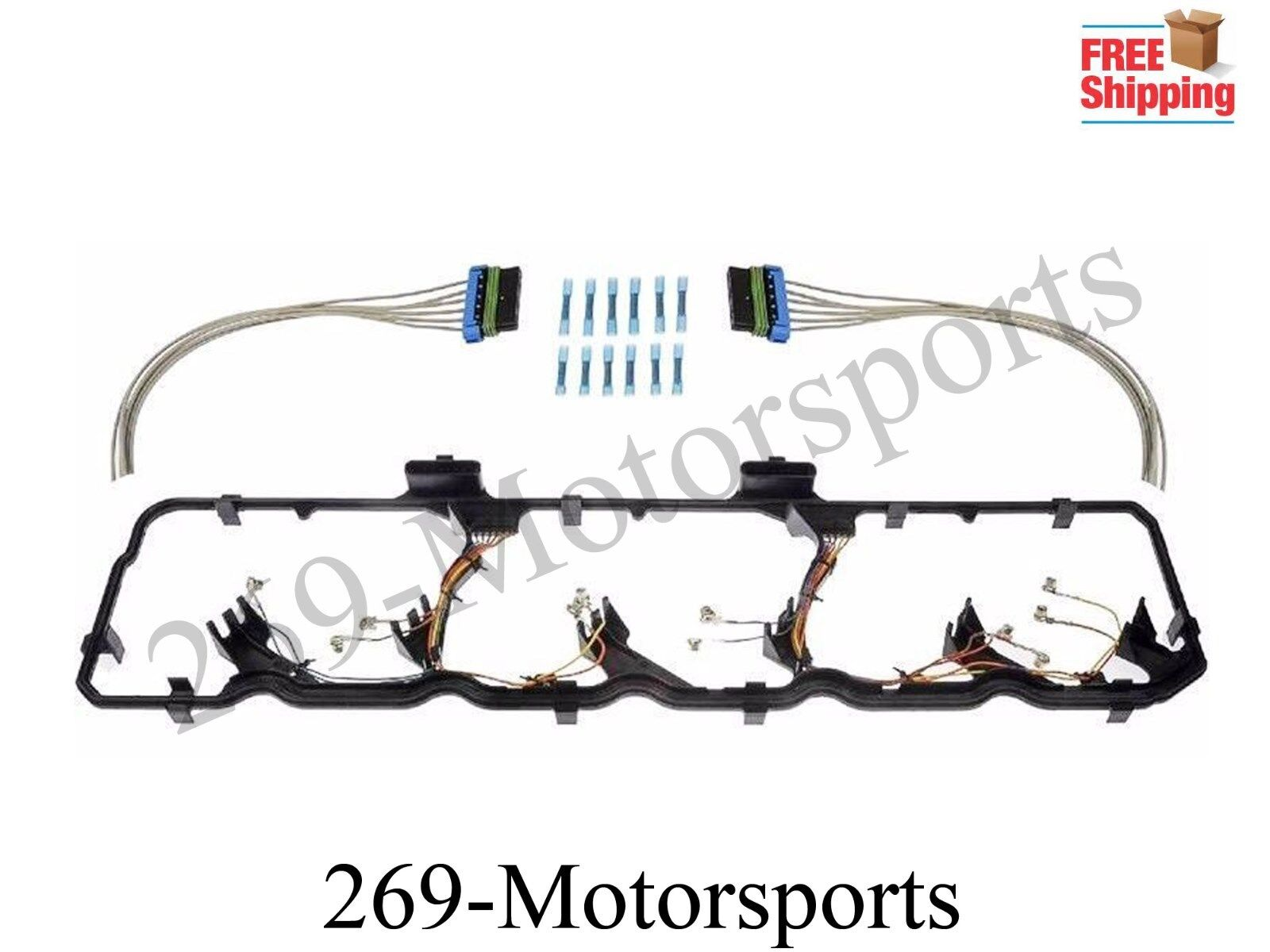 Valve Cover Gasket Wire Harness Fits 59l 67l 06 15 Dodge Cummins Turbo 1 Of 1only 5 Available
