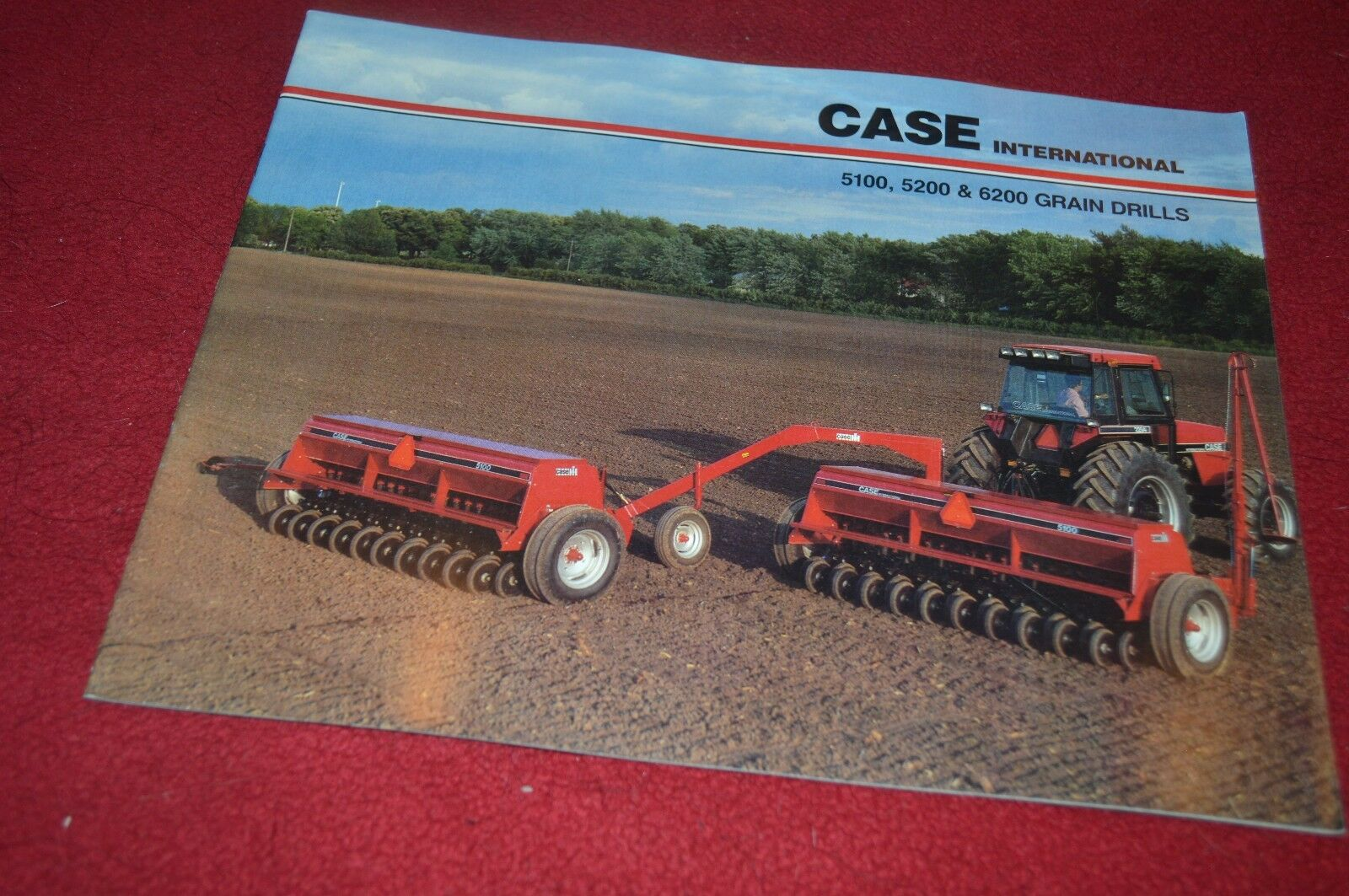 Case International 5100 5200 6200 Grain Drill Dealer Brochure YABE10 1 of  1Only 2 available ...
